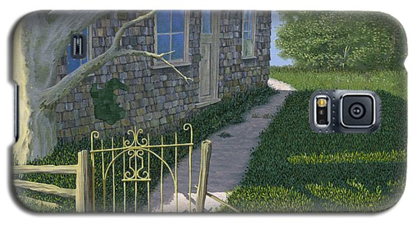 Galaxy S5 Case featuring the painting The Iron Gate by Gary Giacomelli