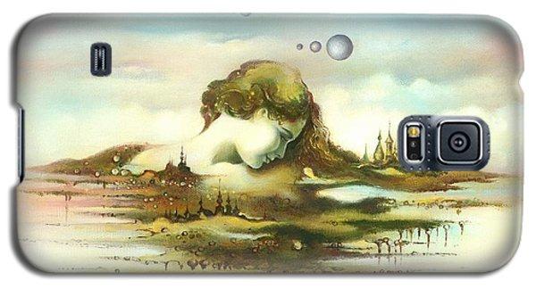 The Island Galaxy S5 Case by Anna Ewa Miarczynska
