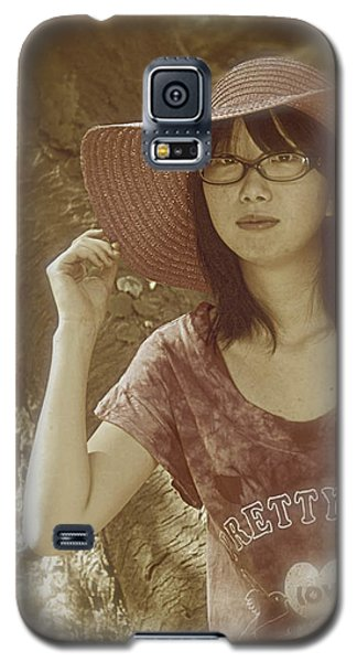 The Japanese Girl Galaxy S5 Case