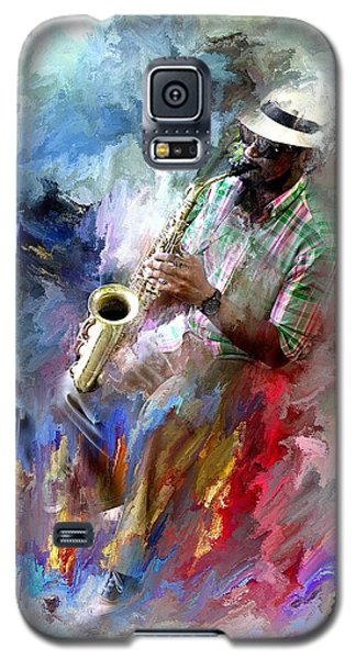 The Jazz Player Galaxy S5 Case