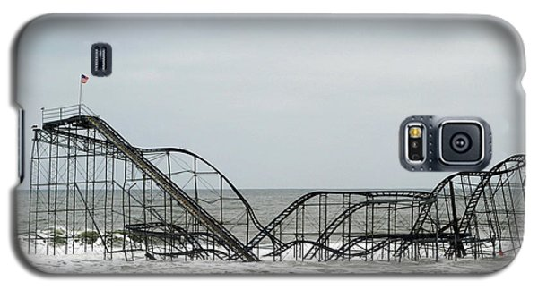The Jetstar Rollercoaster In Seaside Heights Nj Galaxy S5 Case by Living Color Photography Lorraine Lynch