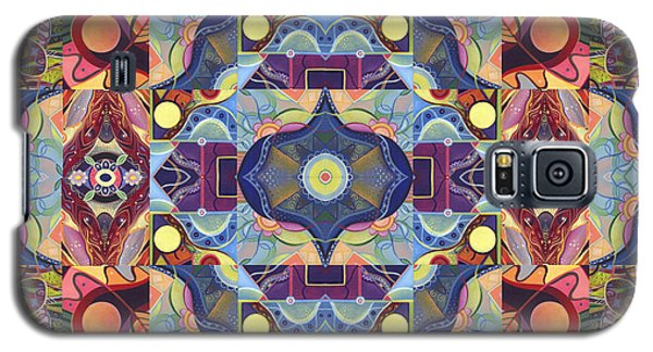 The Joy Of Design Mandala Series Puzzle 1 Arrangement 1 Galaxy S5 Case