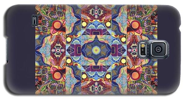 The Joy Of Design Mandala Series Puzzle 1 Arrangement 1 Galaxy S5 Case