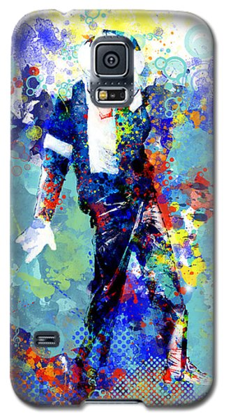 Michael Jackson Galaxy S5 Case - The King by Bekim Art