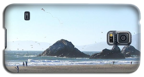 Galaxy S5 Case featuring the photograph The Kite by Brenda Pressnall
