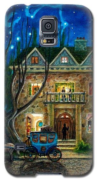 Galaxy S5 Case featuring the painting The Knocker by Matt Konar