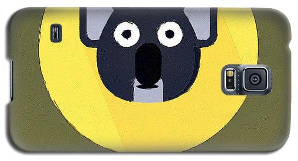 The Koala Cute Portrait Galaxy S5 Case by Florian Rodarte