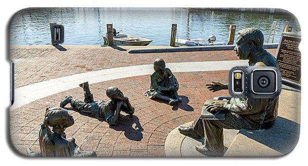 The Kunta Kinte-alex Haley Memorial In Annapolis Galaxy S5 Case