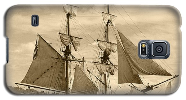 The Lady Washington Ship Galaxy S5 Case by Kym Backland