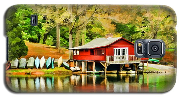 The Lake House Galaxy S5 Case by Darren Fisher