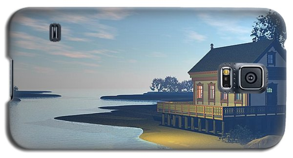 Galaxy S5 Case featuring the photograph The Lake House by John Pangia
