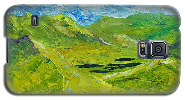 Galaxy S5 Case featuring the painting The Lakes Of Killarney  Original Sold by Conor Murphy