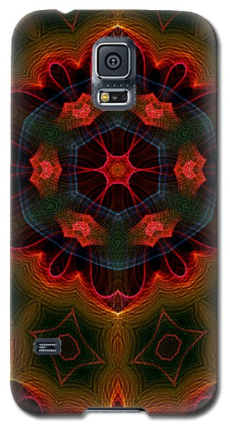 Galaxy S5 Case featuring the digital art The Last Flower II by Owlspook