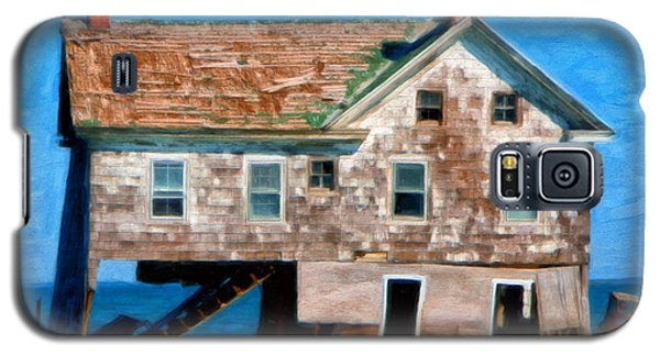 The Last House On Holland Island Galaxy S5 Case by Michael Pickett