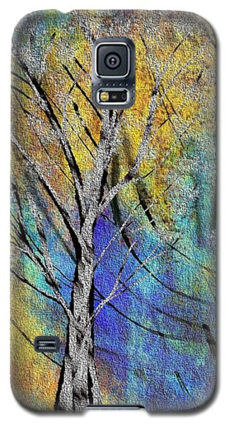 Galaxy S5 Case featuring the painting The Last Leaf by Yul Olaivar