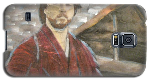Galaxy S5 Case featuring the painting The Last Samurai by Vikram Singh