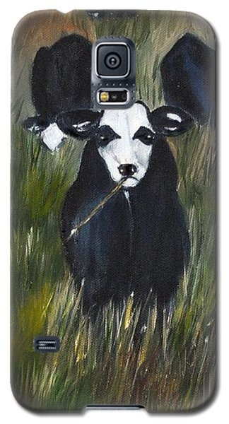 Galaxy S5 Case featuring the painting The Last Straw by Carol Sweetwood