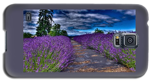 The Lavender Field Galaxy S5 Case