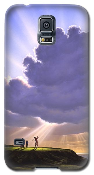 The Legend Of Bagger Vance Galaxy S5 Case by Jerry LoFaro