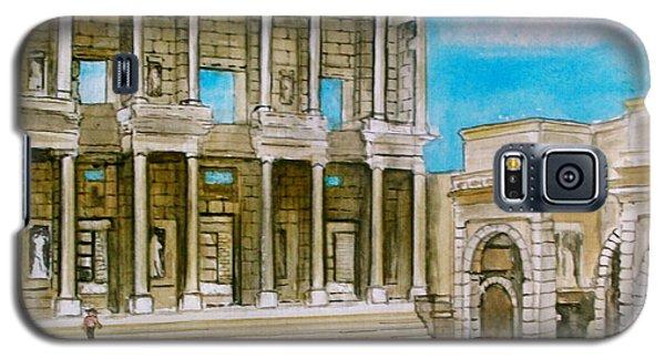 The Library At Ephesus Turkey Galaxy S5 Case