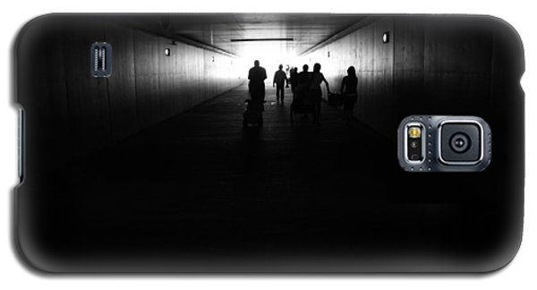 Galaxy S5 Case featuring the photograph The Light At The End Of The Tunnel by Nathan Rupert