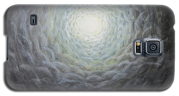 Galaxy S5 Case featuring the painting The Light by Cheryl Pettigrew
