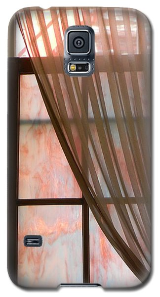 Galaxy S5 Case featuring the photograph The Light Through The Window by Jean Goodwin Brooks