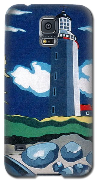 The Lighthhouse Galaxy S5 Case by Joyce Gebauer