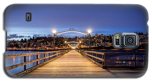 The Lights Of White Rock Beach - By Sabine Edrissi Galaxy S5 Case