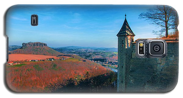 The Lilienstein Behind The Fortress Koenigstein Galaxy S5 Case