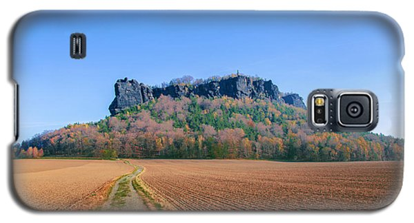 The Lilienstein On An Autumn Morning Galaxy S5 Case
