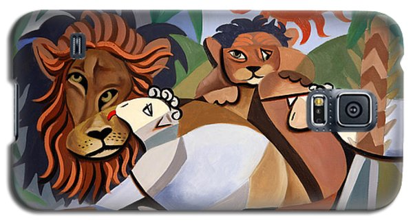 The Lion And The Lamb Galaxy S5 Case