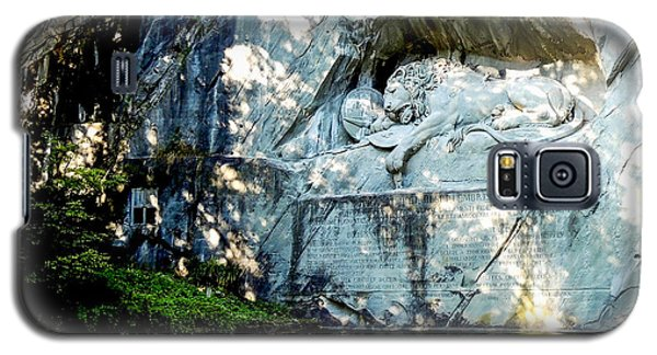 The Lion Monument In Lucerne Switzerland Galaxy S5 Case