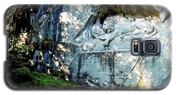 The Lion Monument In Lucerne Switzerland Galaxy S5 Case