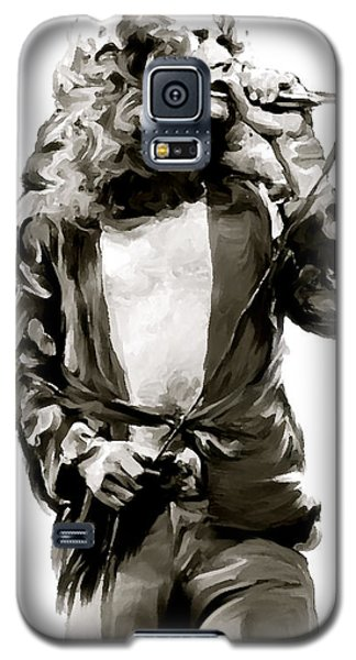 The Lion  Robert Plant Galaxy S5 Case by Iconic Images Art Gallery David Pucciarelli
