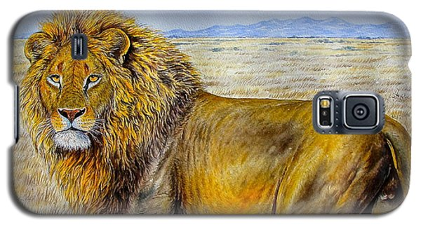 The Lion Rules Galaxy S5 Case