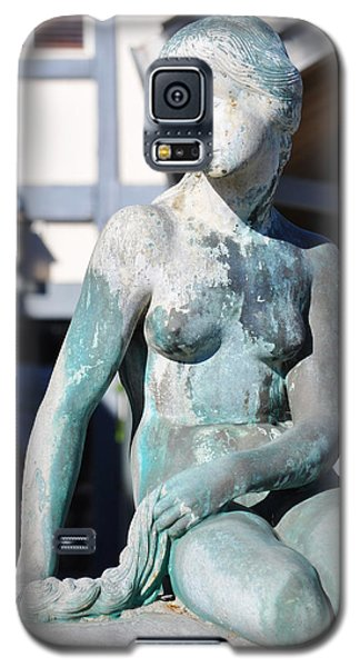 Galaxy S5 Case featuring the photograph The Little Mermaid Of Solvang by Kyle Hanson