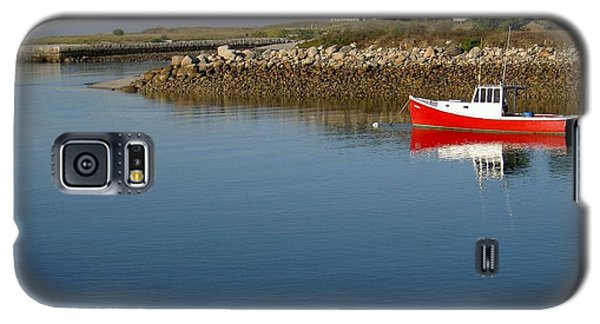 The Little Red Boat Galaxy S5 Case