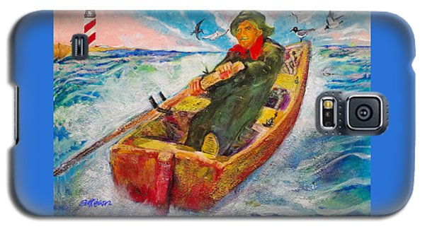 The Lone Boatman Galaxy S5 Case by Seth Weaver