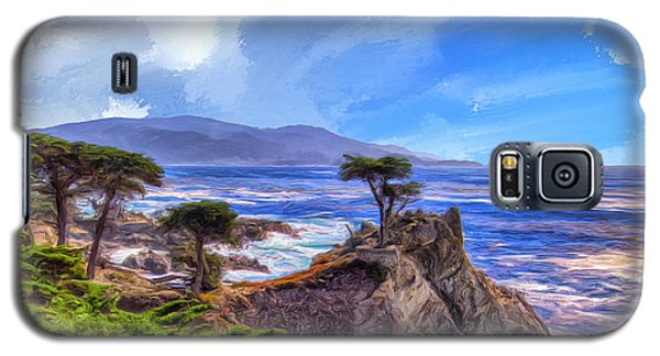 The Lone Cypress Galaxy S5 Case by Dominic Piperata