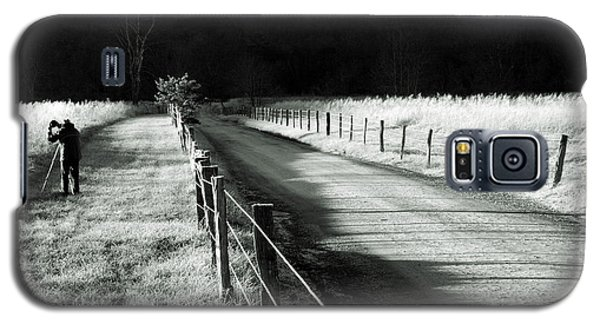 The Lone Photographer Galaxy S5 Case by Douglas Stucky