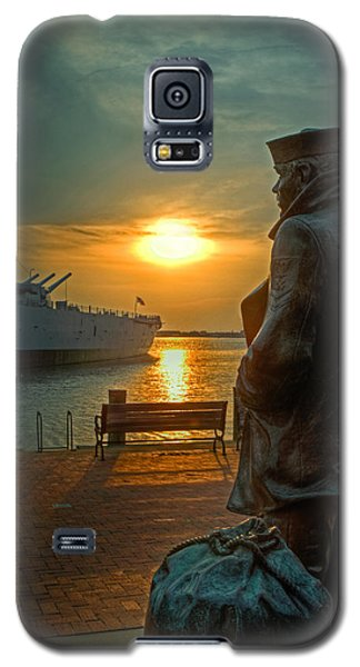 The Lone Sailor Galaxy S5 Case