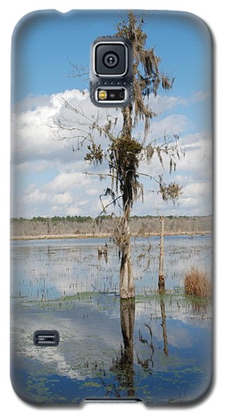 Galaxy S5 Case featuring the photograph The Lone Tree by Kathy Gibbons