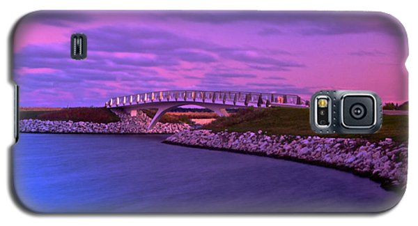 Galaxy S5 Case featuring the photograph The Lonely Bridge by Jonah  Anderson