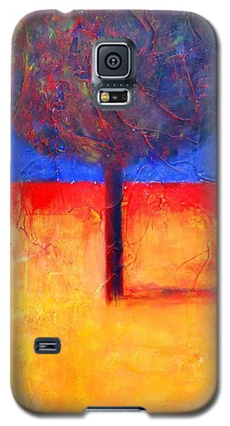 The Lonely Tree In Autumn Galaxy S5 Case