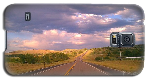 Galaxy S5 Case featuring the photograph The Long Road Home by Chris Tarpening