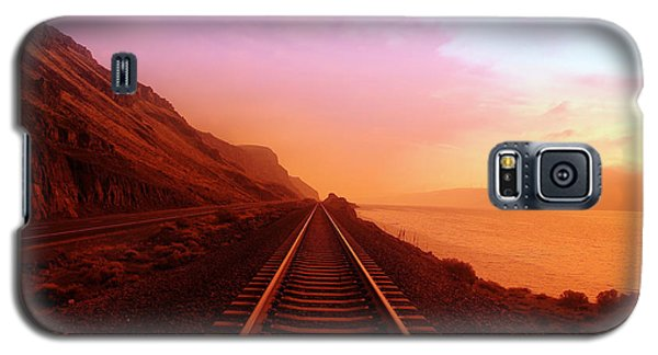 The Long Walk To No Where  Galaxy S5 Case by Jeff Swan