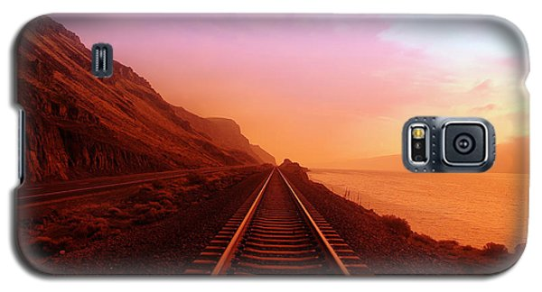 Transportation Galaxy S5 Case - The Long Walk To No Where  by Jeff Swan