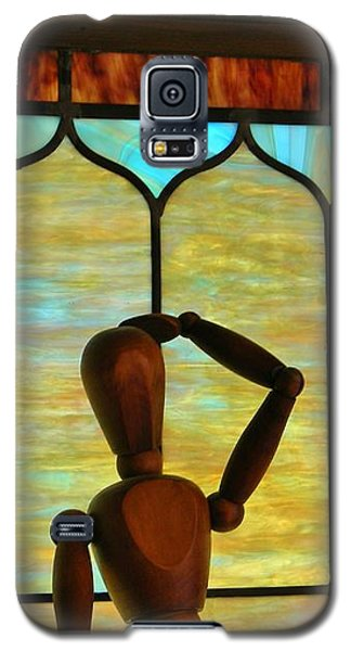 Galaxy S5 Case featuring the photograph The Lookout by Jean Goodwin Brooks