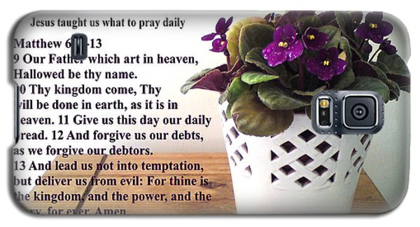 The Lords Prayer Galaxy S5 Case